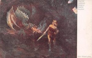Dragon Mythology: Sigfried Sigtfredo Szigfrid Sigfrid Zygfryd, Otto Nowak pinx.