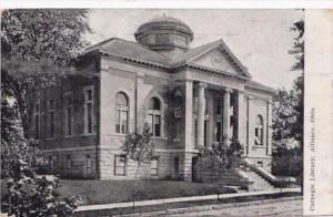 Ohio Alliance Carnegie Library 1909