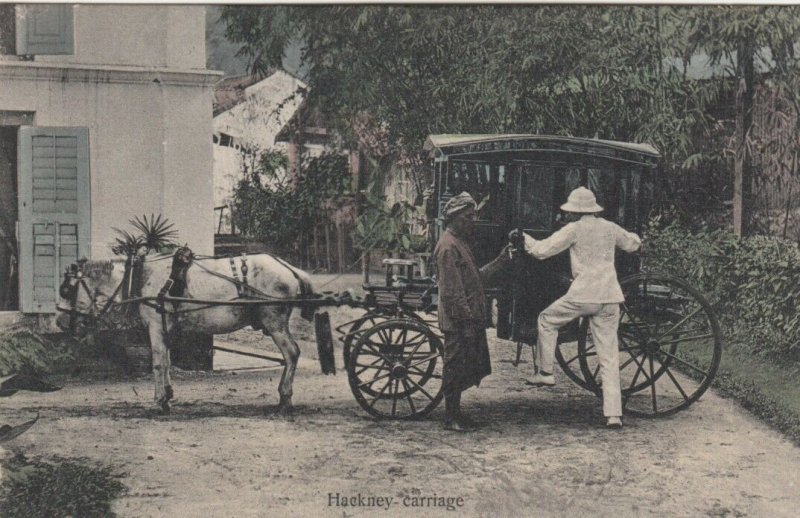 Hackney carriage , India , 1900-10s