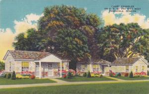 Exterior, Court Chandler, Pensacola, Florida, PU-1953