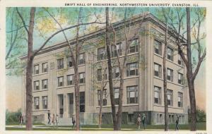EVANSTON, Illinois, PU-1939; Swift Hall of Engineering, Northwestern University