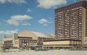 New Jersey Atlantic City Convention Hall And New Holiday Inn