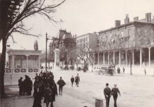 Reviewing Stands on Pennsylvania Ave 1905 - Washington, DC - Dover Reprint