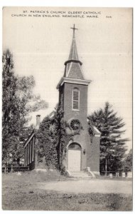 Newcastle, Maine, St. Patrick's Church, Oldest Catholic Church in New England