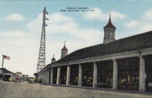 NEW ORLEANS, Louisiana, 30-40s ; French Market