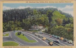 Newfound Gap Parking Area Showing Laura Spelman Memorial Great Smorky Mountai...