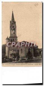 Old Postcard surroundings Royan Saint Georges de Didonne the church