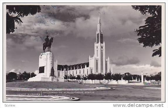 RP; Lourenco Marques , Mozambique , Monument & Church , 30-40s