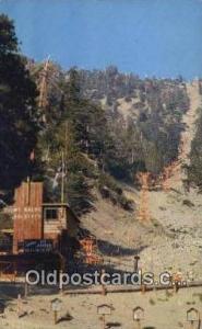 Mt Baldy, CA USA Ski, Skiing Postcard Post Card Old Vintage Antique  Mt Baldy...