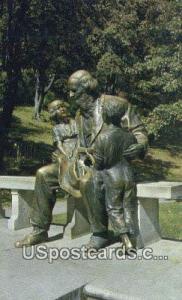 John Ball Statue, John Ball Park Grand Rapids MI 1960