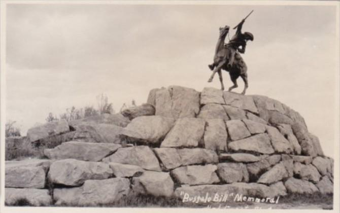 Buffalo Bill Memorial Real Photo