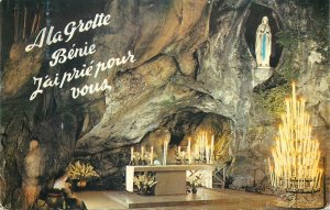 Postcard France grotte Benie
