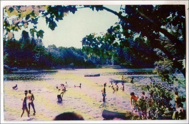 Swimming Area, Long Pond, Oswegatchie Camp, Croghan NY
