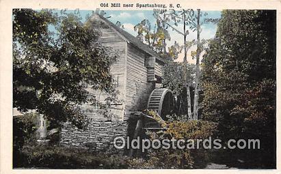 Spartanburg, SC, USA Old Mill