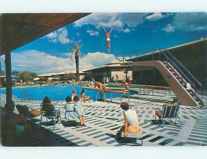Unused Pre-1980 POOL AT SANDS MOTEL Las Vegas Nevada NV u5977