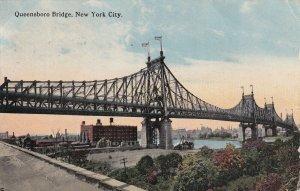 NEW YORK CITY, New York, PU-1914; Queensboro Bridge