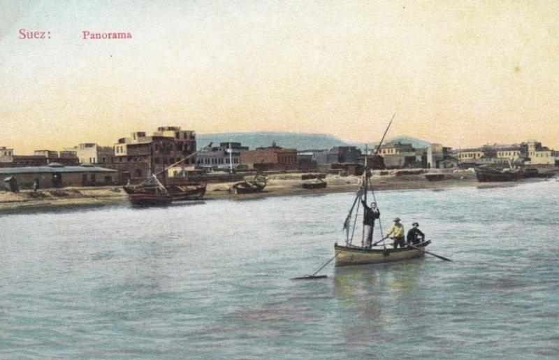 SUEZ , Egypt , 00-10s ; Panorama