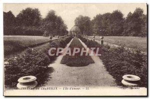 Old Postcard Chateau de Chantilly The Miss Love