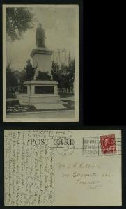 Brant's Memorial Branford Ont  pmk 1919