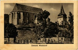 CPA Greetings from Miskolc HUNGARY (846164)