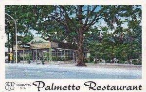 South Carolina Ridgeland Palmetto Resturant