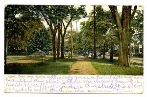 GA - Augusta. Greene Street circa 1905