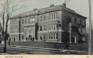 MEXICO , Missouri , 1900-10s ; High School