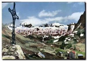 Modern Postcard St Martin Vesuble and surrounding Madonna of Fenestre