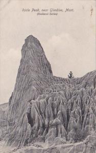 Montana Badlands Icicle Peak Near Glendive