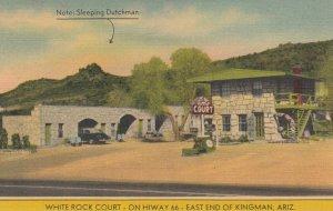 RT 66 ; KINGMAN , Arizona , 1930-40s ; White Rock Court