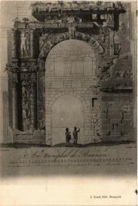 CPA BESANCON - ARC Triumphal de BESANCON (486553)