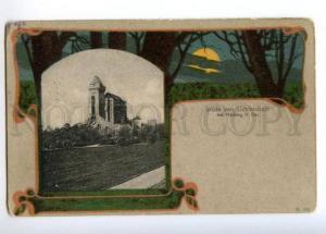 173101 GRUSS von LICHTENSTEIN bei Modling N. Vintage postcard