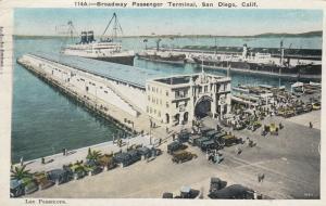 SAN DIEGO , California , 1932 ; Broadway Passenger Terminal
