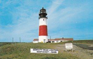 NANTUCKET , Massachusetts , 1950-60s ; Sankaty Head Lighthouse