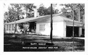 Orange Park Florida~Moosehaven~Superintendent Home~1950s Real Photo Postcard