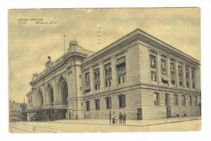 Union Station, Albany, New York, PU-1909