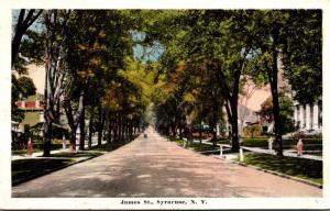 New York Syracuse James Street 1919