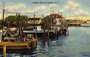 RI - Galilee. Fishing Boats