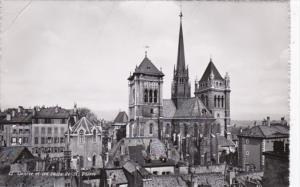 Switzerland Geneve et les tours de St Pierre Photo