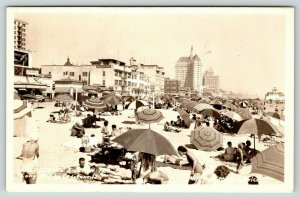 Long Beach California~East Seaside Bathers~Bath House~Grube Apartments~1940 RPPC