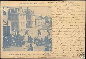 Saint Pierre and Miquelon, La Sortie de l'Eglise (1905)