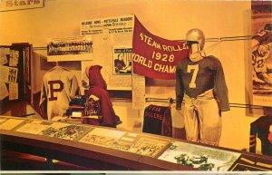 Postcard Sport pro football hall of fame Canton Ohio