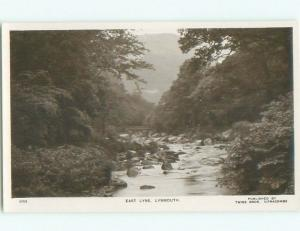 old rppc NICE VIEW Lynmouth Near Exmoor - Devon England UK i2493