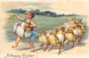 Easter, Ellen H Clapsaddle Holiday Unused