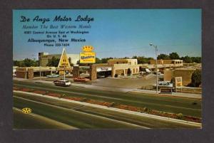 NM De Anza Motor Lodge Motel ALBUQUERQUE New Mexico