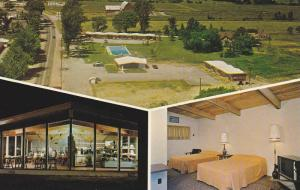3-views, Provincial Motel,  Intersection 401 and Hwy 2, Thousand Islands,  On...
