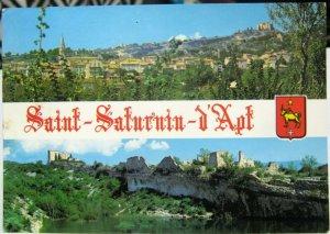 France Saint Saturnin d'Apt - posted 1982