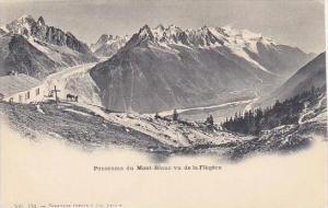 Switzerland Panorama du Mont-Blanc vu de la Flegere