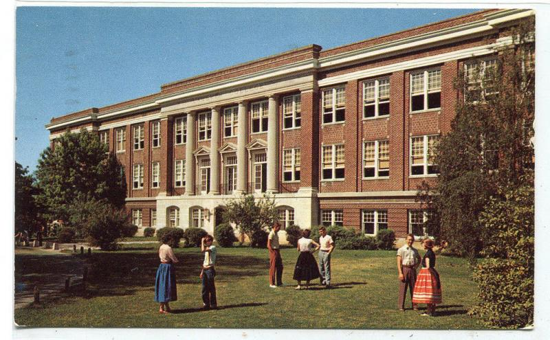 campus view admin building lambuth college jackson tennessee 1959
