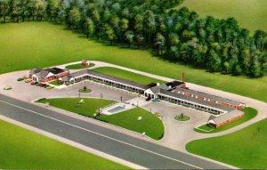 Virginia Emporia Belco Motor Court & Restaurant 1965
